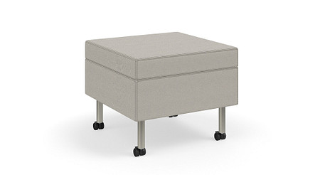 TattooSlimSeating Ottoman casters TL36
