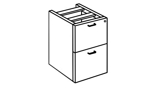 Modular Pedestal Storage