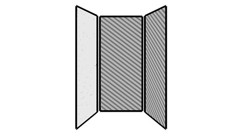 Steel Exterior Panels; Interior Panels: Left-Steel Rear-Fabric Right-Fabric