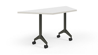 Pirouette Tables | Trapezoid Top (Fixed/Nesting)