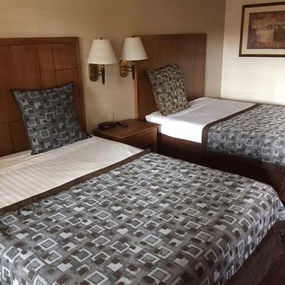 Anaheim Desert Inn Bedspread 1