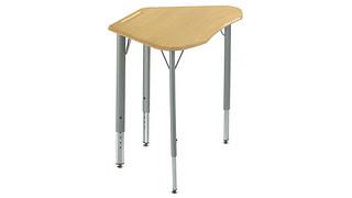 Intellect Wave Desks | Trapezoid Desk