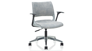 Doni Task Chair | Solid Shell (Upholstered Seat & Back)