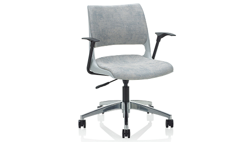 Solid Shell (Upholstered Seat & Back)