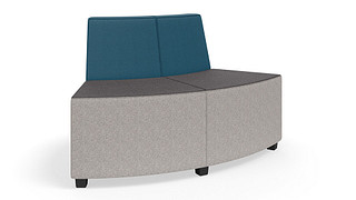 MyPlace Lounge Furniture | 60° Outside Curve w/ Back