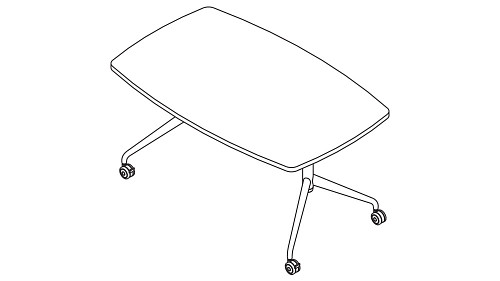 Slate Top (Fixed/Pin-Height Adjustable Leg)