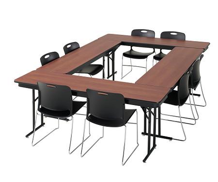 Emissary Folding Table square config