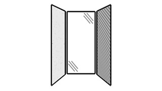 WiggleRoom | Steel Exterior Panels; Interior Panels: Left-Steel Rear-Glass Right-Fabric
