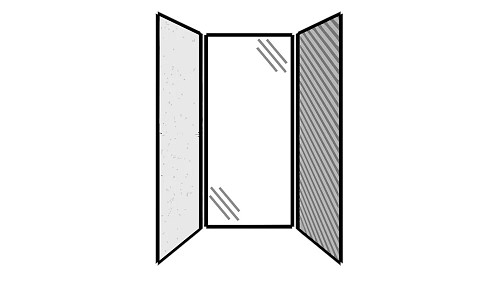 Steel Exterior Panels; Interior Panels: Left-Steel Rear-Glass Right-Fabric