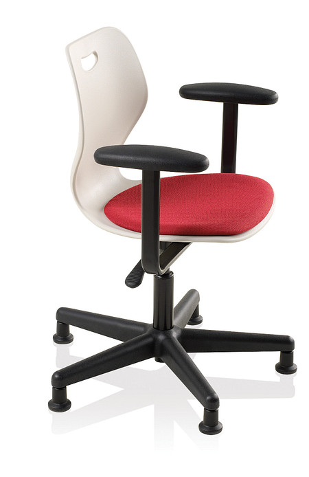 Wave task L uph seat arms glides