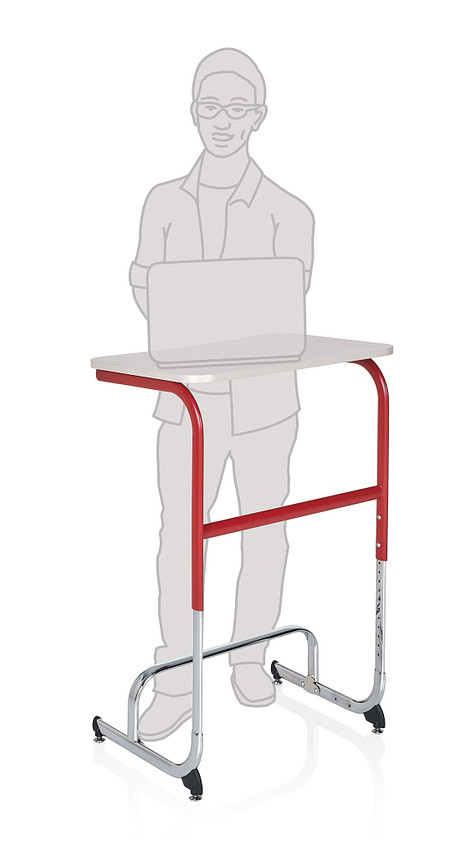 Wave desk sitstand positionC