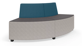 "MyPlace Lounge Furniture | 90° Outside Back Curve (32"", 48"" or 60"")"
