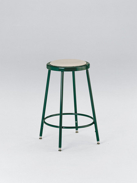600 Series Industrial Stool Upholstered