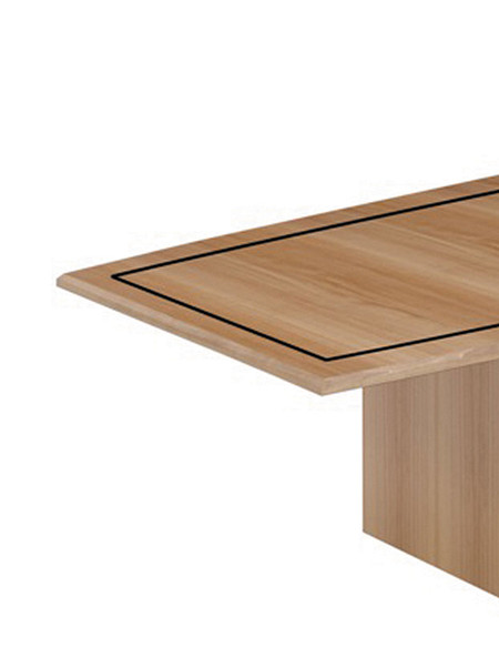 Serenade boat top angle wood inlay panel nosteel