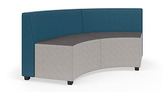 MyPlace Lounge Furniture | 90° Inside Curve w/ Back