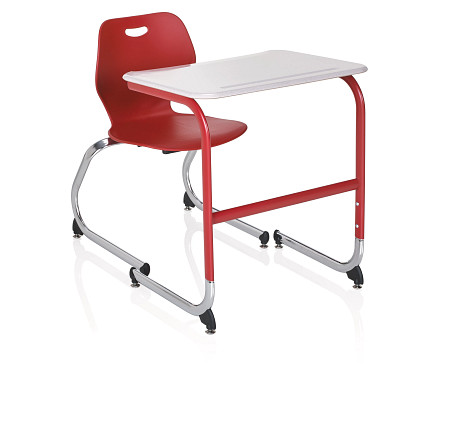 Wave desk cantilever chair