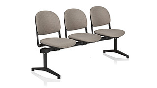 Torsion Tandem Seating | 3 place unit - uph