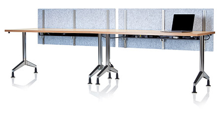 Pirouette Trough Universal Height-Adjustable Screens