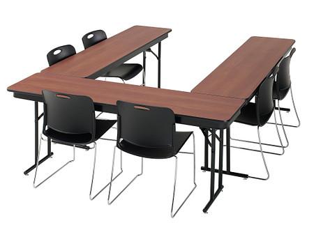 Emissary Folding Table u-shape config