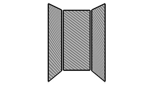 Steel Exterior Panels; Interior Panels: Left-Fabric Rear-Fabric Right-Fabric