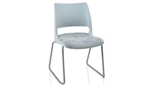 Sled Base with Solid Shell (Upholstered Seat)