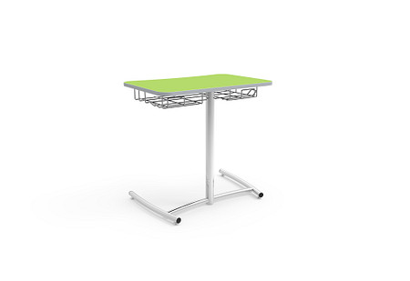 Ruckus desk 29 glides bookrack