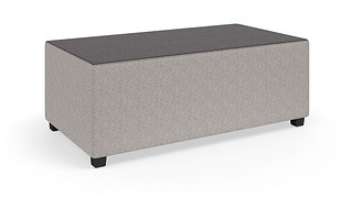 "MyPlace Lounge Furniture | Rectangle (Backless, or 32"", 48"", or 60"" back heights)"
