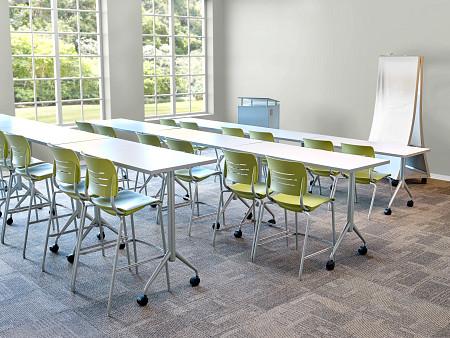classroom tiered back Grazie Trek