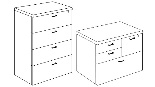 Freestanding Storage (Lateral or Multifile)