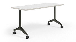 Pirouette Tables | Rectangular Top (Fixed/Nesting w/optional Power)