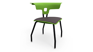 Ruckus Chair | 4-Leg Chair, Upholstered Seat
