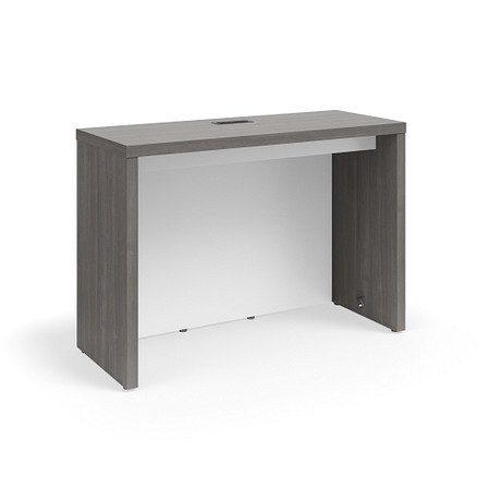 SerenadeGatheringTable CafeHeight 24x72 Contrast Modesty Power FrontAngle