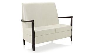 Affina Lounge Seating | Highback Loveseat