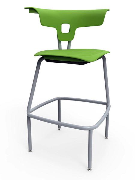 Ruckus stool 760mm glides