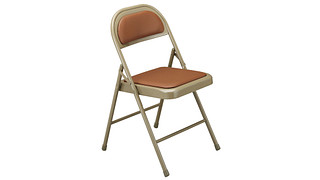 100 Series Folding Chair | Upholstered Seat and Back