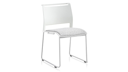 Upholstered High-Density Stack Chair