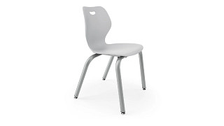 Intellect Wave Chair | 4-Leg Poly Chair