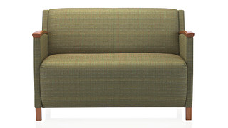 Soltice Lounge Seating | Medium Loveseat