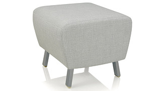 Soltice Metal Lounge Seating | Ottoman