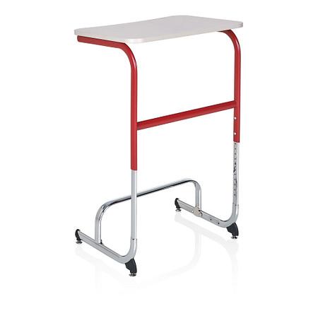 Wave desk sitstand high angle