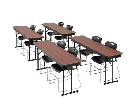 Emissary Folding Table center isle