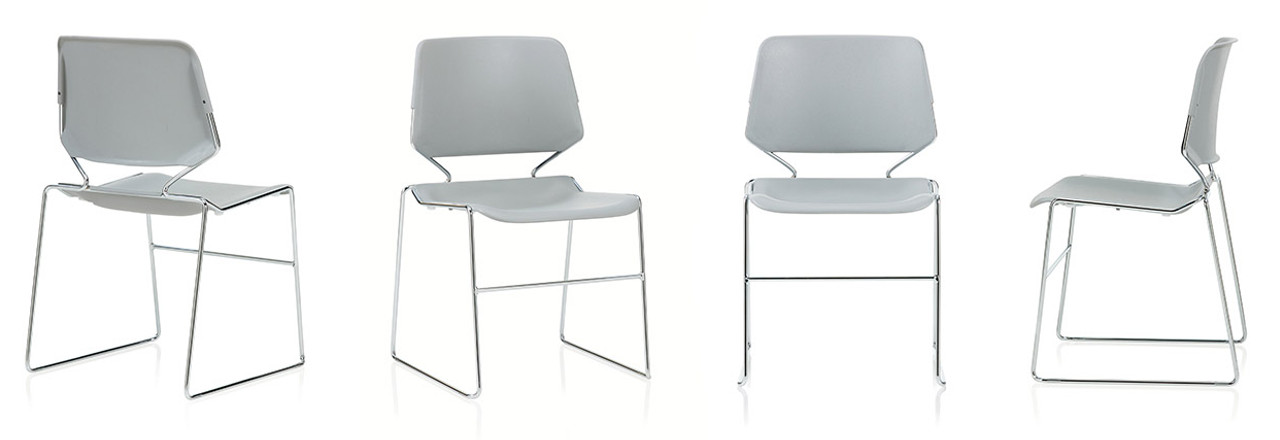 Matrix High Density Stack Chair