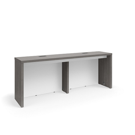 SerenadeGatheringTable CafeHeight 24x108 Contrast Modesty Power FrontAngle
