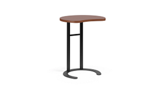 "C-Table Personal Worksurfaces | Round w/ Comfort Curve (26"" or 29""H Fixed)"