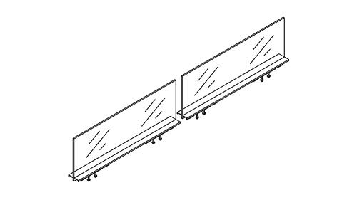 Glass Divider Screen