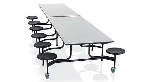 Rectangular Table with Stools