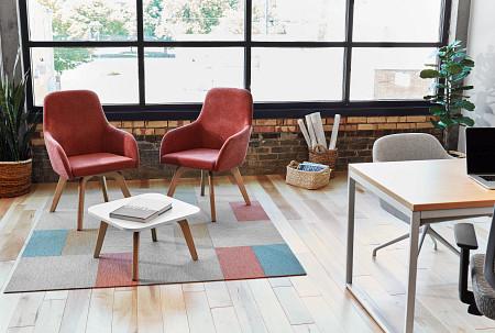 Calida Office Swivel WoodLeg Unite