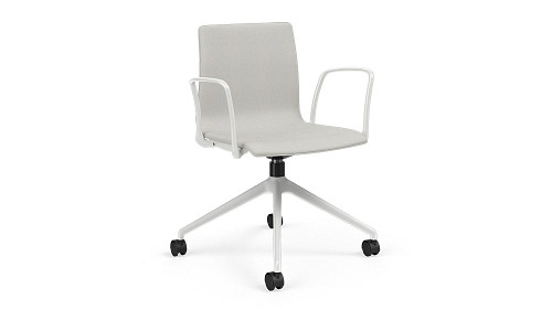 Swivel Chair with Upholstered Seat/Back