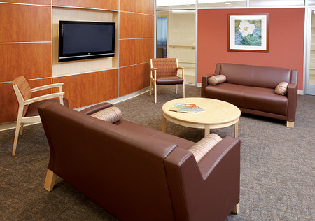 AtlantiCare Hospital Family Room Soltice Guest Lounge Flex Table