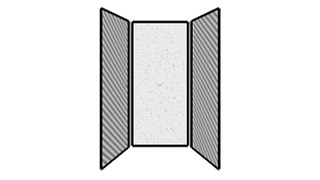 WiggleRoom | Steel Exterior Panels; Interior Panels: Left-Fabric Rear-Steel Right-Fabric